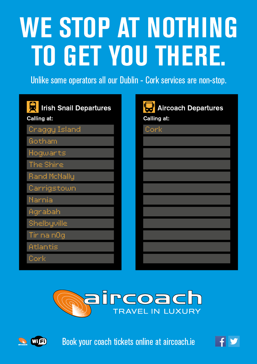 Marketing Network - Aircoach non stop