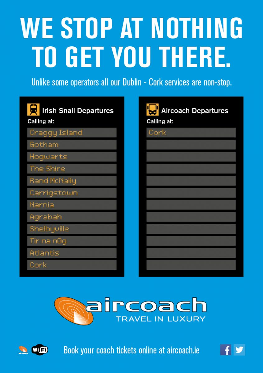 Marketing Network - Aircoach non stop