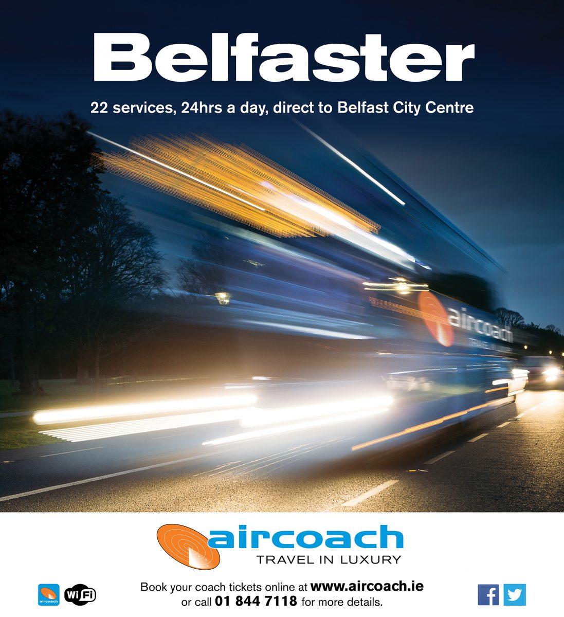 Marketing Network - Aircoach Belfast